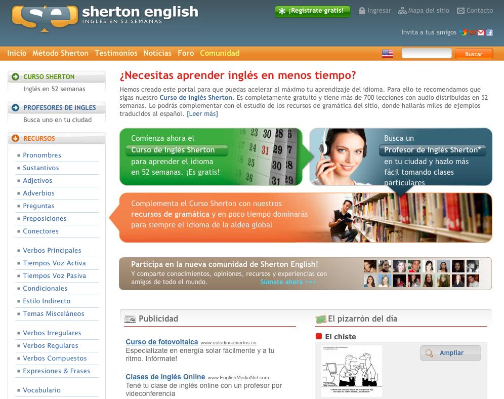 Sherton English: Aprender Inglés Gratuito y más Rápido