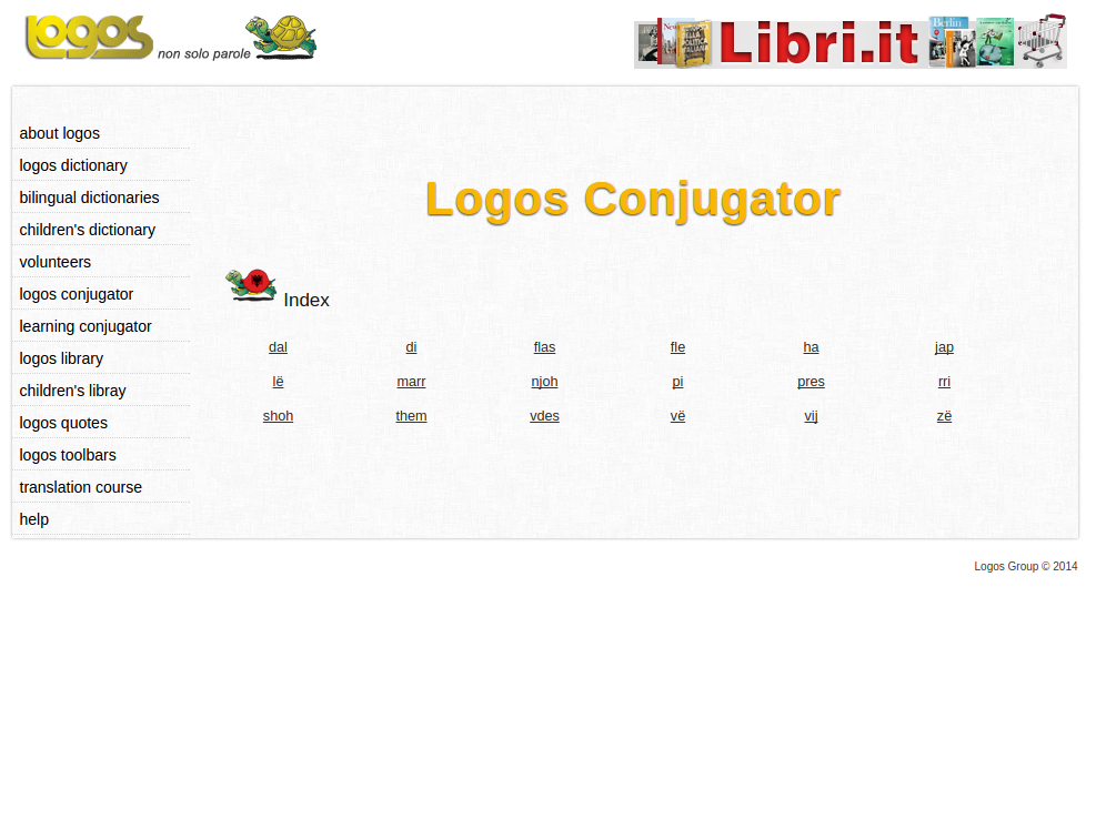 Free Online Albanian Verb Conjugation and Learning Conjugator