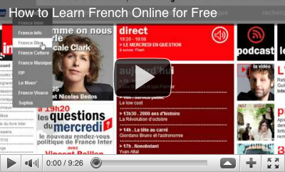 Video: How to Learn French for Free Online with General Resources, Exercises, Games, Interactive Tools, Radio, TV, Podcasts