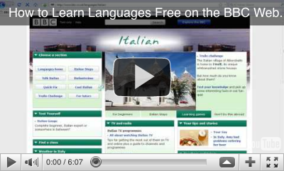 Video: How to Use the BBC Website to Learn English, Chinese, French, German, Greek, Italian, Portuguese, Spanish, More - Free!