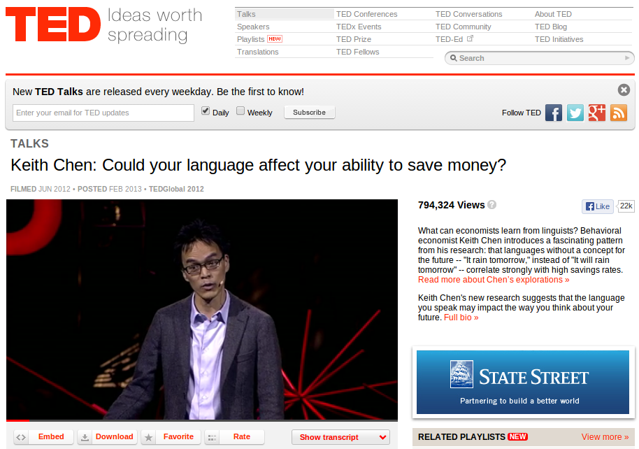 Your Native Language Affects your Ability to Save Money?!