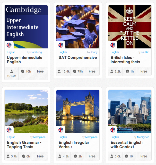 Memrise Merges Science, Fun and Community to Help Learn English Online for Free (+ App)
