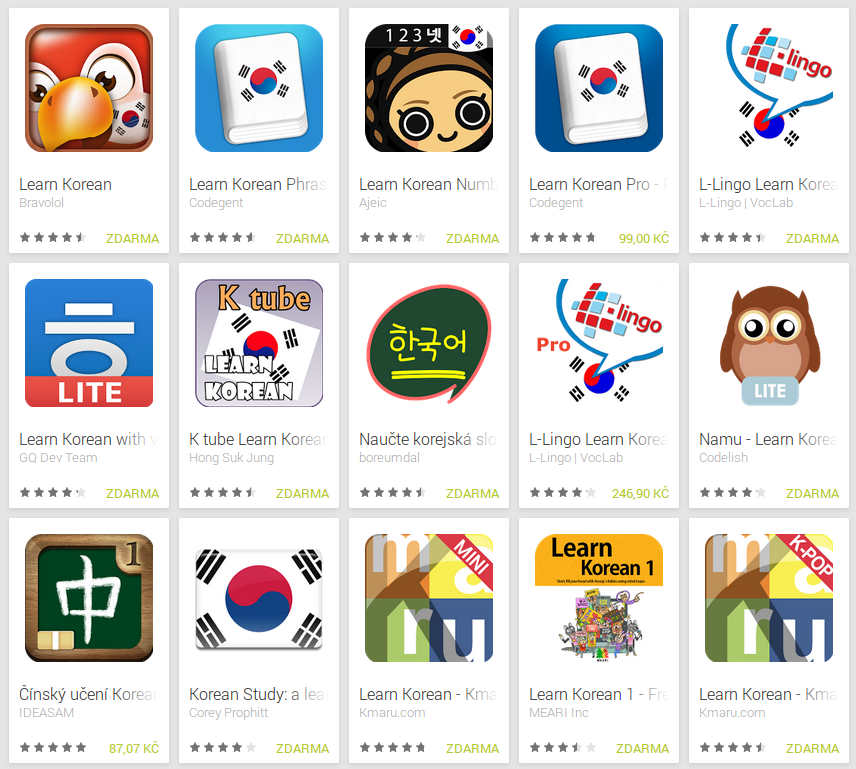 Learn Korean with Android Apps | Free Language
