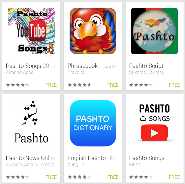 Learn Pashto with Android Apps