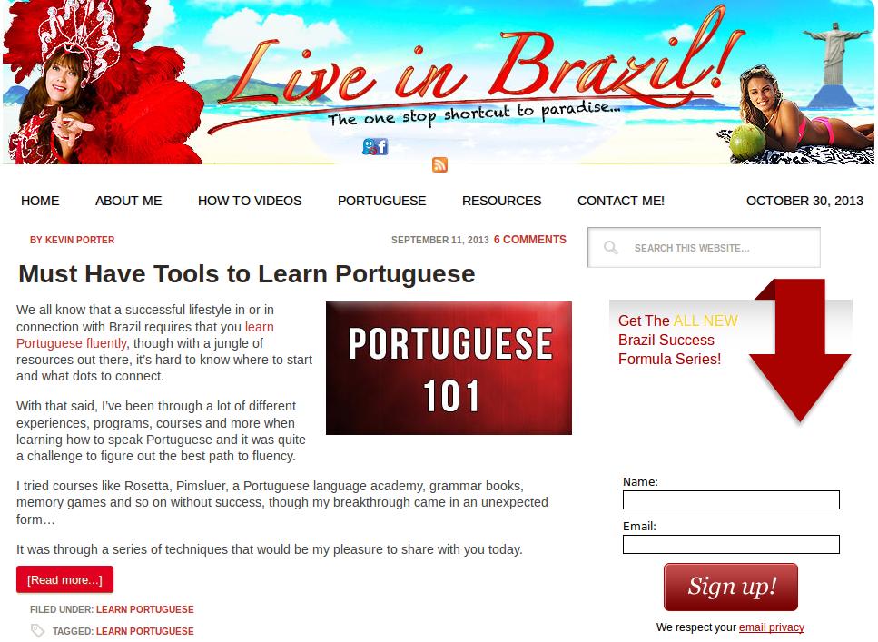 Learn Brazilian Portuguese Tips, Hacks & Free Crash Course