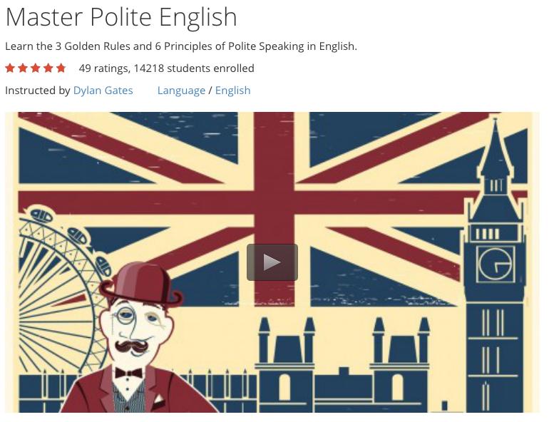 Free Course: Master Polite English