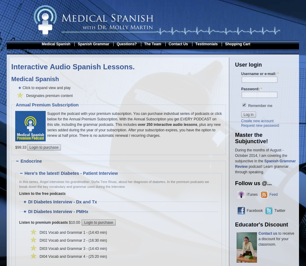 Medical Spanish Podcast for Doctors, Health Practitioners and Hospitalists