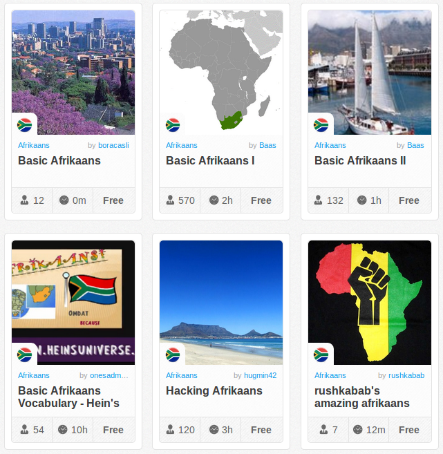 Memrise Merges Science, Fun and Community to Help Learn Afrikaans Online for Free (+ App)