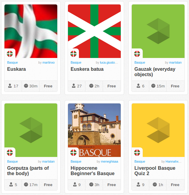 Memrise Merges Science, Fun and Community to Help Learn Basque Online for Free (+ App)