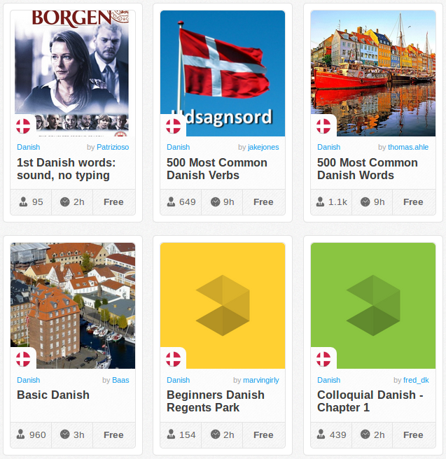 Memrise Merges Science, Fun and Community to Help Learn Danish Online for Free (+ App)