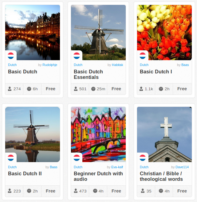 Memrise Merges Science, Fun and Community to Help Learn Dutch Online for Free (+ App)