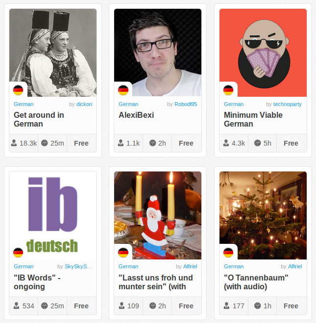 Memrise Merges Science, Fun and Community to Help Learn German Online for Free (+ App)