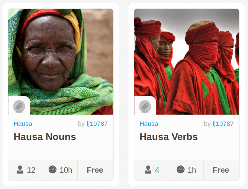 Memrise Merges Science, Fun and Community to Help Learn Hausa Online for Free (+ App)