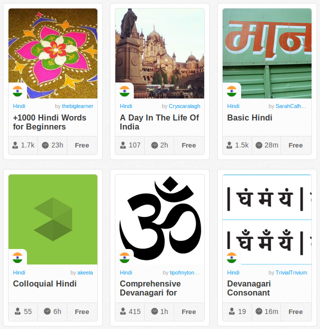 Memrise Merges Science, Fun and Community to Help Learn Hindi Online for Free (+ App)