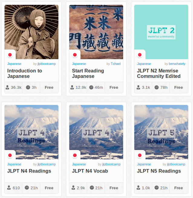 Memrise Merges Science, Fun and Community to Help Learn Japanese Online for Free (+ App)