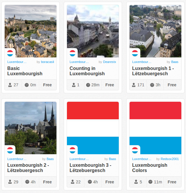 Memrise Merges Science, Fun and Community to Help Learn Luxembourgish Online for Free (+ App)