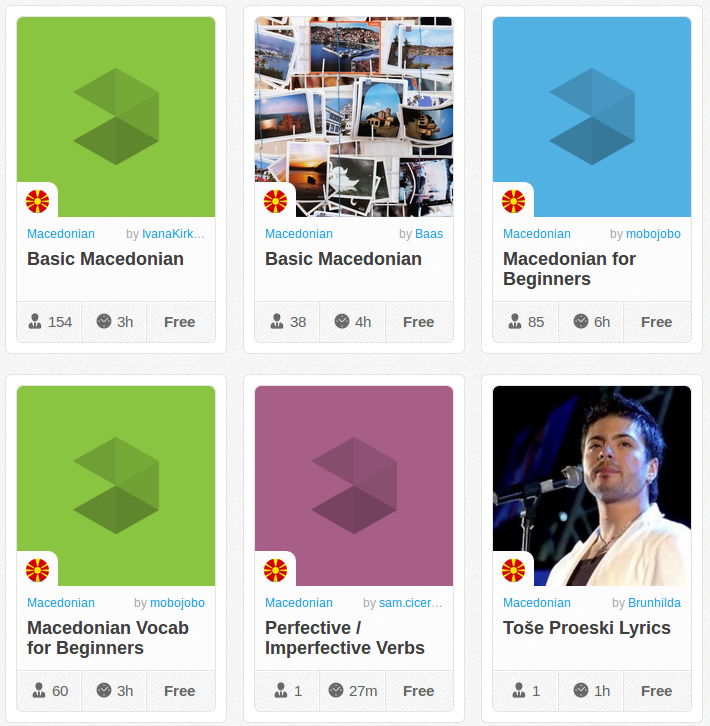 Memrise Merges Science, Fun and Community to Help Learn Macedonian Online for Free (+ App)