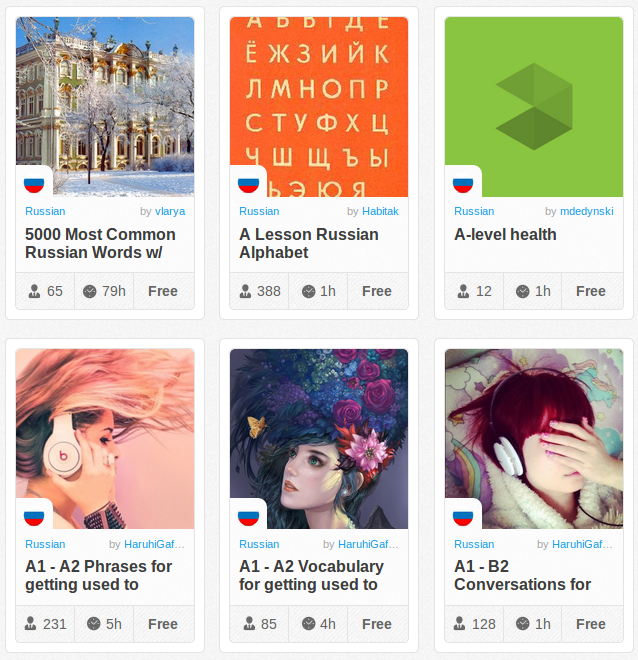 Memrise Merges Science, Fun and Community to Help Learn Russian Online for Free (+ App)