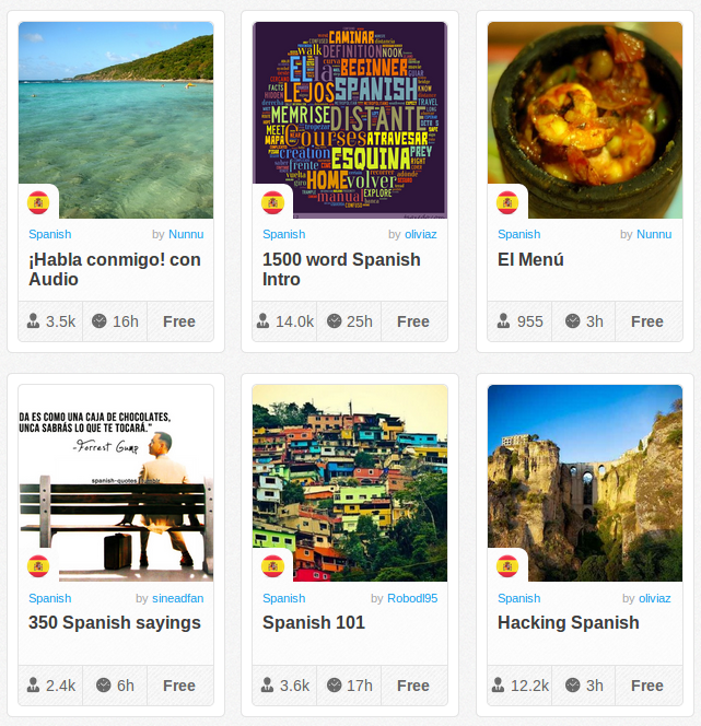 Memrise Merges Science, Fun and Community to Help Learn Spanish Online for Free (+ App)