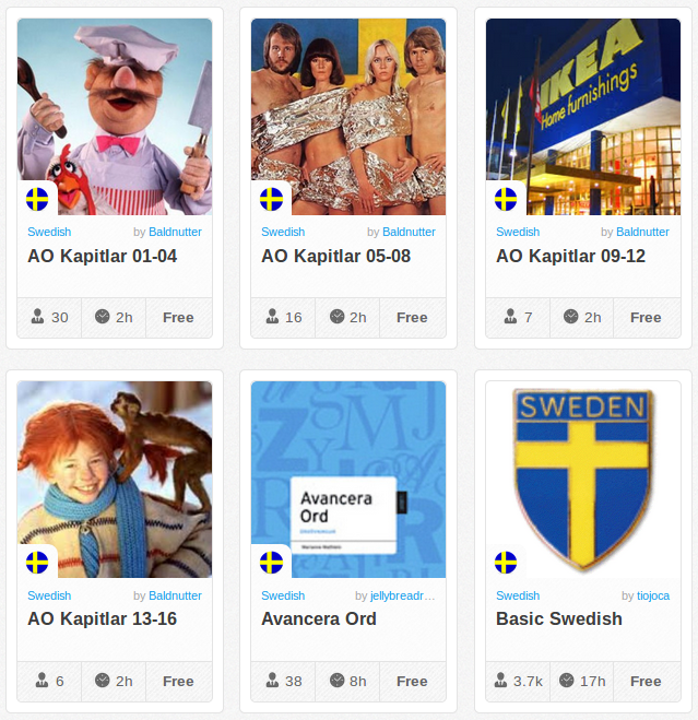 Memrise Merges Science, Fun and Community to Help Learn Swedish Online for Free (+ App)