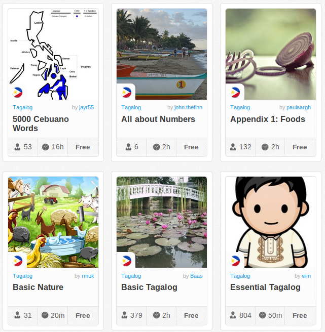 Memrise Merges Science, Fun and Community to Help Learn Tagalog Filipino Online for Free (+ App)