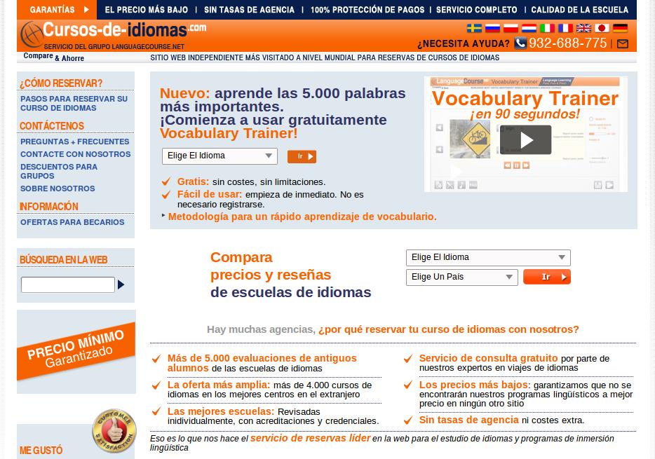 La Forma más Rápida, Barata y Fácil de Encontrar y Reservar Cursos de Idiomas en el Extranjero