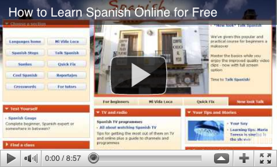Video: How to Learn Spanish for Free Online with General Resources, Exercises, Games, Interactive Tools, Radio, TV, Podcasts