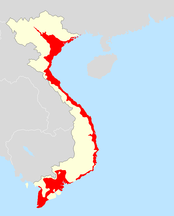 Learn about the Vietnamese Language (Map)