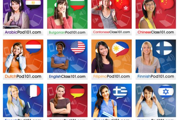 Aprende 25+ Idiomas con los Podcast Gratuitos