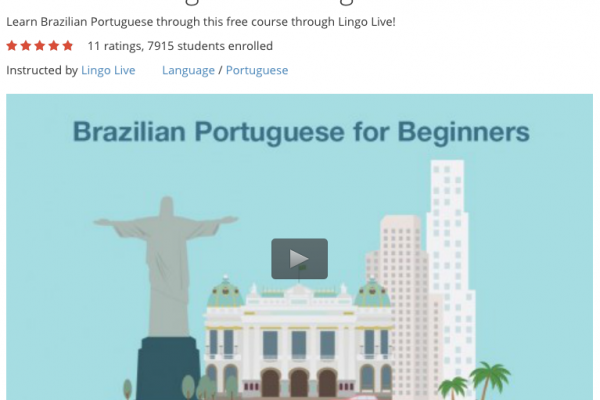 Free Course: Brazilian Portuguese for Beginners