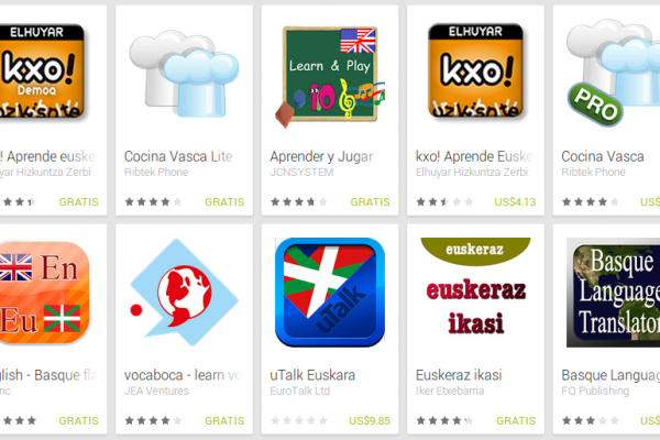 Learn Basque with Android Apps