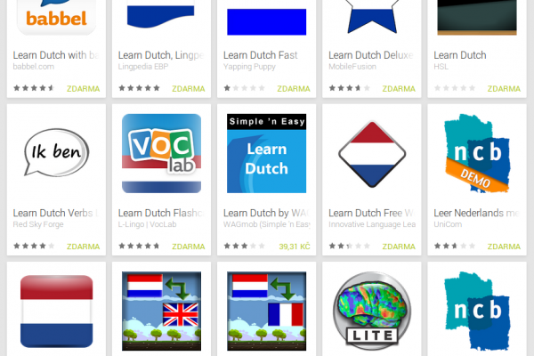 Learn Dutch with Android Apps
