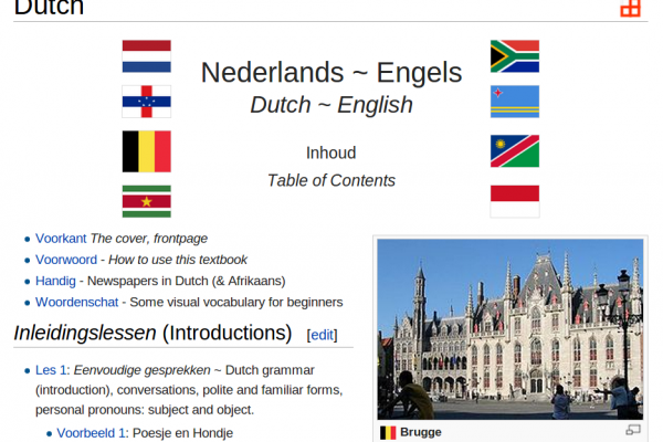 Learn Dutch with this Free Online Book