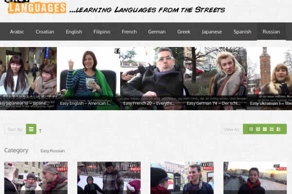 """Free """"Real Life"""" Russian Language Learning Videos with Bilingual Subtitles (English and Russian)"""