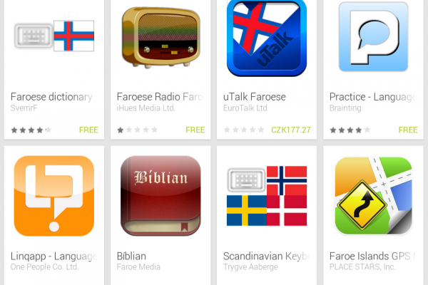 Learn Faroese with Android Apps