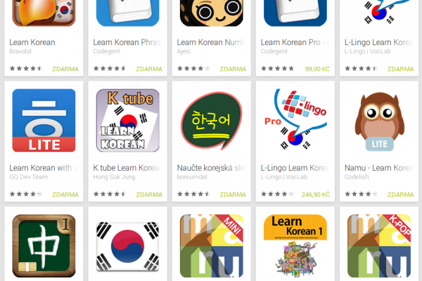 Learn Korean with Android Apps