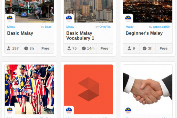 Memrise Merges Science, Fun and Community to Help Learn Malay Online for Free (+ App)