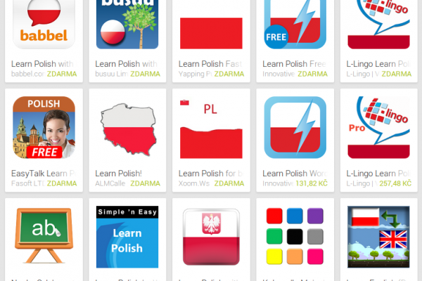 Learn Polish with Android Apps