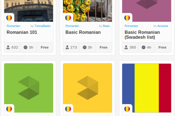 Memrise Merges Science, Fun and Community to Help Learn Romanian Online for Free (+ App)