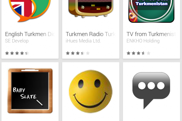 Learn Turkmen with Android Apps