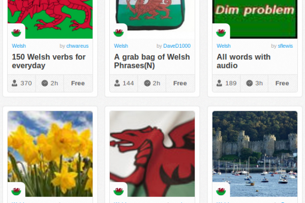Memrise Merges Science, Fun and Community to Help Learn Welsh Online for Free (+ App)