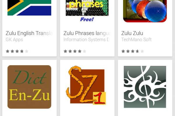 Learn Zulu with Android Apps