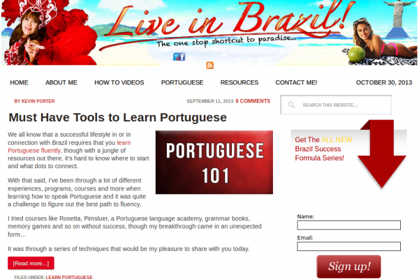 Learn Brazilian Portuguese Tips, Hacks & Free Crash Course