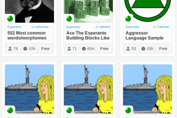 Memrise Merges Science, Fun and Community to Help Learn Esperanto Online for Free (+ App)
