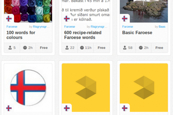 Memrise Merges Science, Fun and Community to Help Learn Faroese Online for Free (+ App)