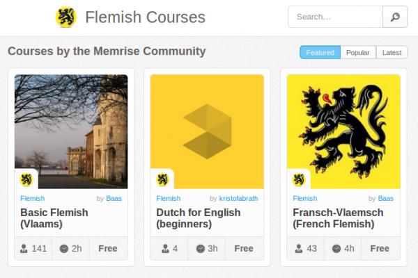 Memrise Merges Science, Fun and Community to Help Learn Flemish Online for Free (+ App)