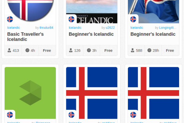 Memrise Merges Science, Fun and Community to Help Learn Icelandic Online for Free (+ App)