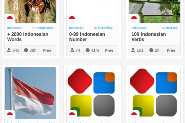 Memrise Merges Science, Fun and Community to Help Learn Indonesian Online for Free (+ App)