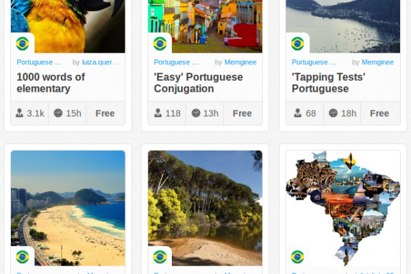 Memrise Merges Science, Fun and Community to Help Learn Brazilian Portuguese Online for Free (+ App)