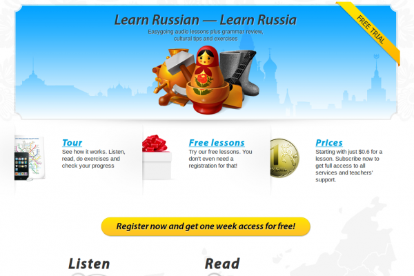 RusPod: A Podcast for Learning Russian by Discovering Russia